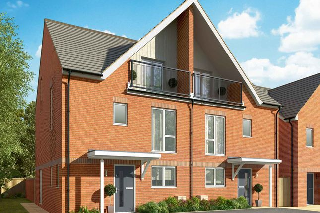Thumbnail Semi-detached house for sale in Connolly Way, Chichester