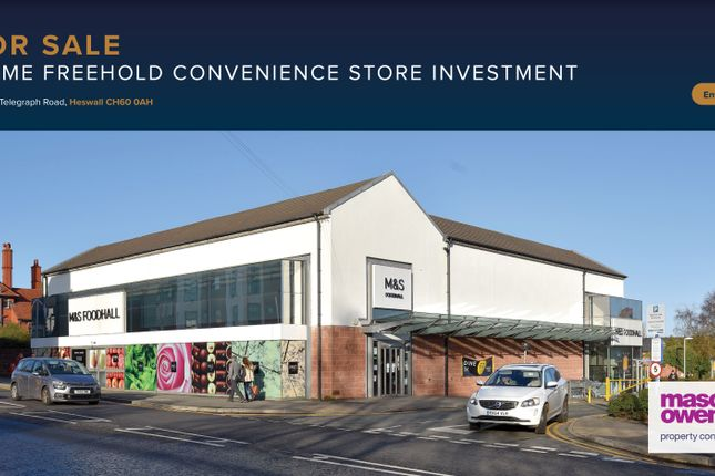 Thumbnail Retail premises for sale in Telegraph Road, Heswall
