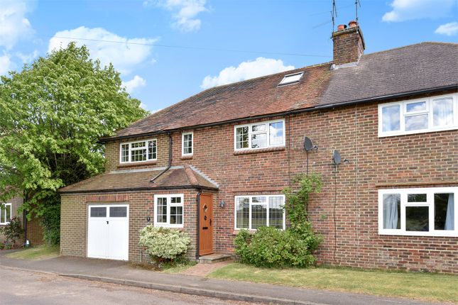 Thumbnail Semi-detached house to rent in Peakfield, Frensham, Farnham, Surrey