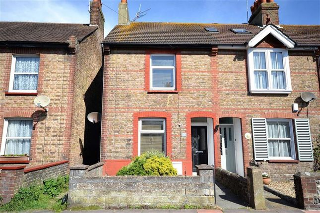 Thumbnail End terrace house for sale in Penfold Road, Broadwater, Worthing, West Sussex