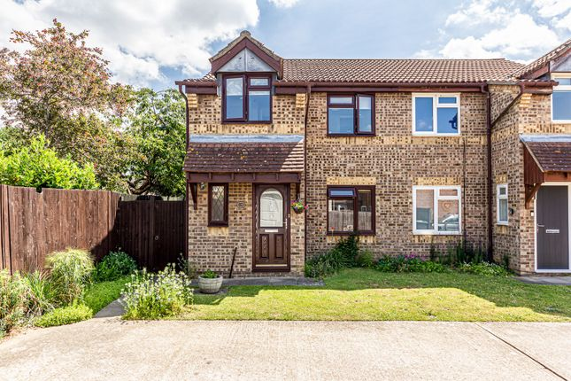 3 bed semi-detached house for sale in Willowmead, Leybourne ME19