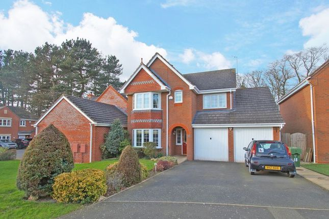 Thumbnail Detached house for sale in Aspens Way, Bromsgrove