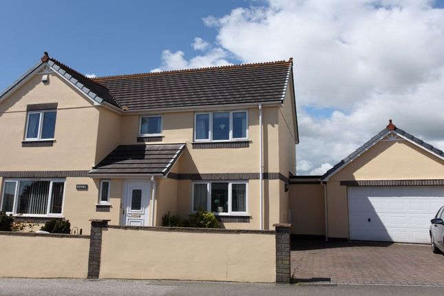 Thumbnail Detached house to rent in Brockstone Road, St Austell, Cornwall
