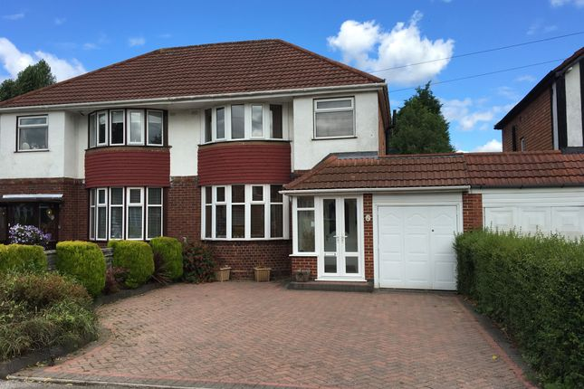 Thumbnail Semi-detached house for sale in Thurlston Avenue, Solihull