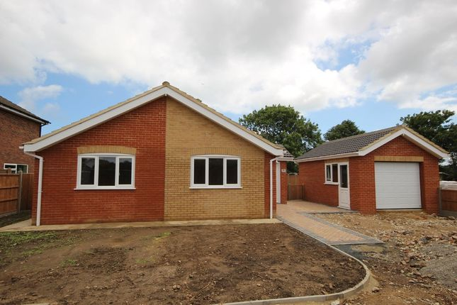 Thumbnail Detached bungalow for sale in The Pastures, Hemsby, Great Yarmouth