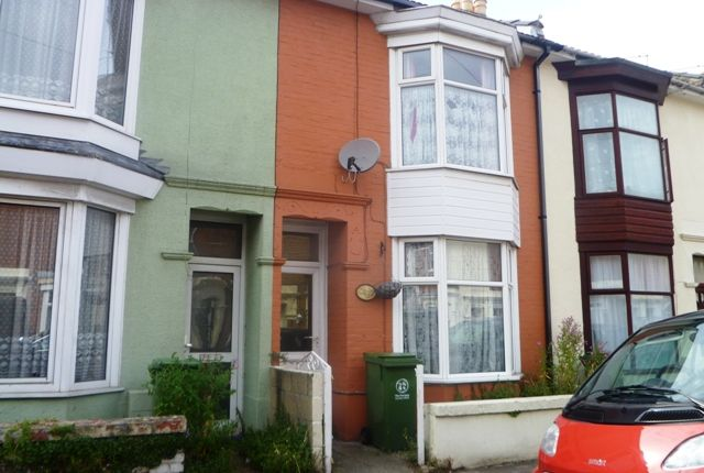 Thumbnail Terraced house to rent in Shearer Road, Fratton, Portsmouth, Hampshire