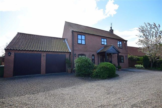 Thumbnail Detached house for sale in Holly Court, Rolleston, Nottinghamshire