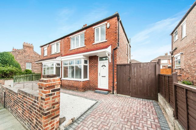 Thumbnail Semi-detached house for sale in Beaconsfield Road, Norton, Stockton-On-Tees