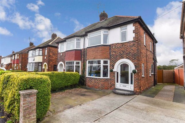 Thumbnail Semi-detached house for sale in Golf Links Road, Inglemire Lane, Hull