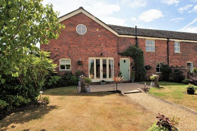 Thumbnail Barn conversion for sale in Mill Lane, Holmes Chapel, Crewe