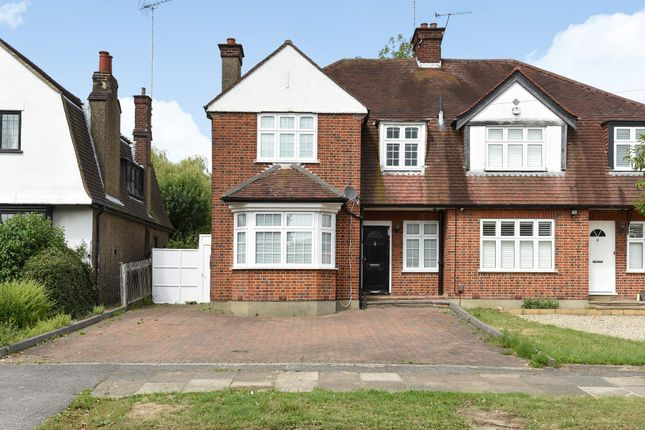 Thumbnail Semi-detached house for sale in Hillside Road, Northwood