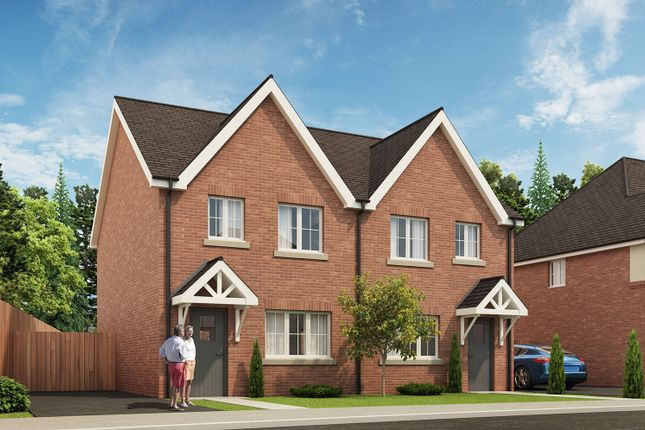 Thumbnail Semi-detached house for sale in St Dominic's Place, Hartshill Road, Stoke-On-Trent