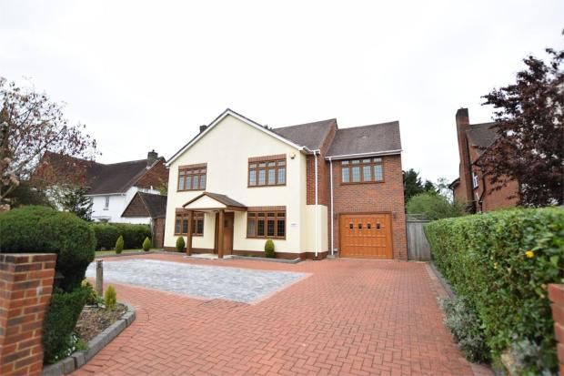 Thumbnail Detached house for sale in Parkway, Camberley