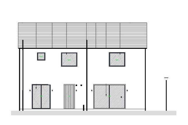 Rear Elevation of Waterford Lane, Cherry Willingham, Lincoln LN3