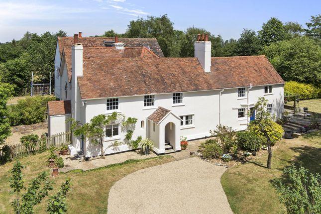 Thumbnail Detached house for sale in Burhill Road, Burwood Park, Hersham, Walton-On-Thames