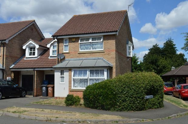 Thumbnail Link-detached house for sale in Meltham Close, Beau Manor, Northampton