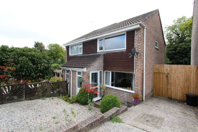 Thumbnail Semi-detached house for sale in Hawthorn Avenue, Torpoint, Cornwall