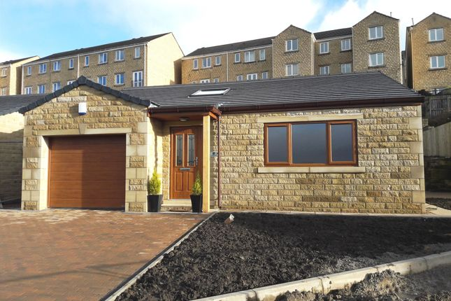 Thumbnail Detached bungalow for sale in Old Willow Close, New Lane, Whitegate, Halifax