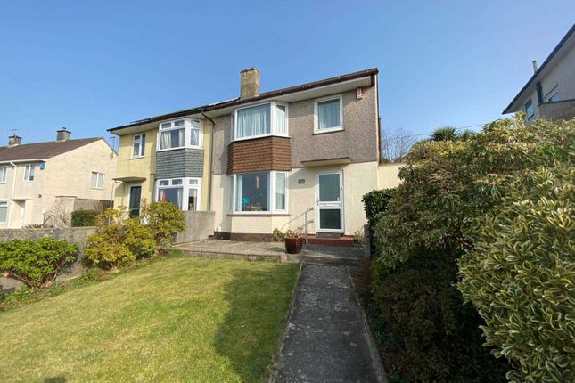 Thumbnail Semi-detached house to rent in Budshead Road, Plymouth