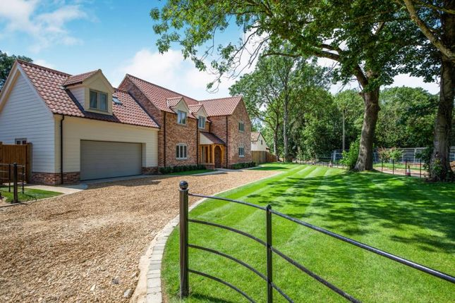 Thumbnail Detached house for sale in Hillsend Lane, Attleborough, Norfolk