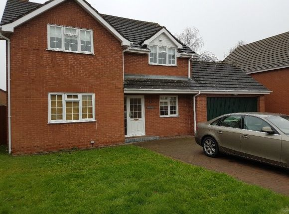 Thumbnail Detached house to rent in Church Road, Tupsley, Hereford