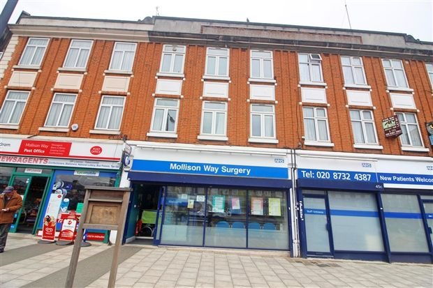 Thumbnail Flat to rent in South Parade, Mollison Way, Edgware
