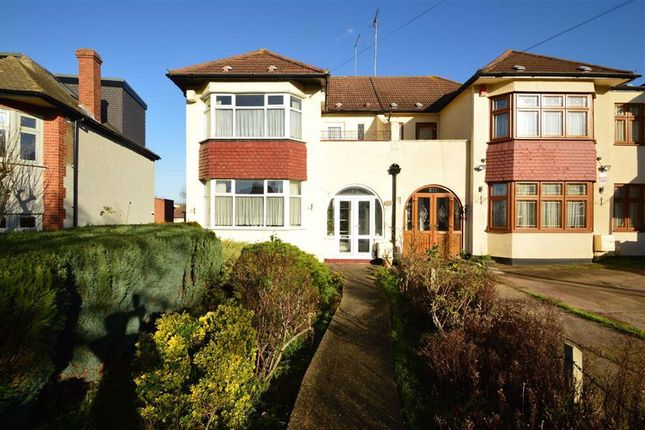 Semi-detached house for sale in Stradbroke Grove, Clayhall, Essex