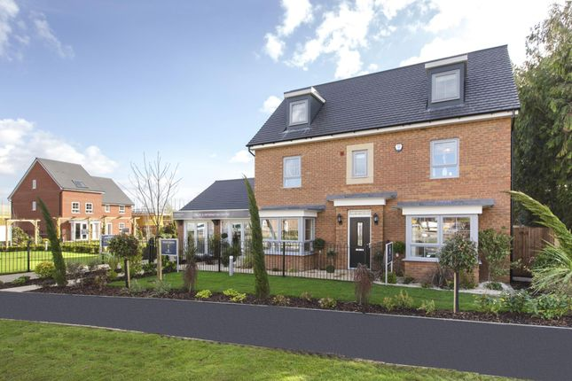 """Thumbnail Detached house for sale in """"Warwick"""" at Warkton Lane, Barton Seagrave, Kettering"""