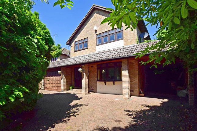 Thumbnail Detached house for sale in Downham Road, Ramsden Heath, Billericay, Essex