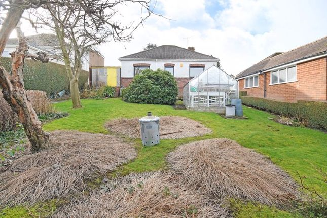 Rear Of Bungalow of Hallowes Lane, Dronfield, Sheffield S18