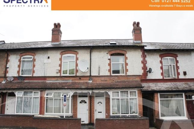 Thumbnail Terraced house to rent in Uplands Road, Handsworth