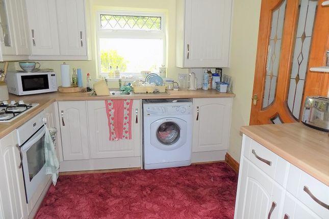 Kitchen of Heol Orchwy, Treorchy, Rhondda Cynon Taff. CF42