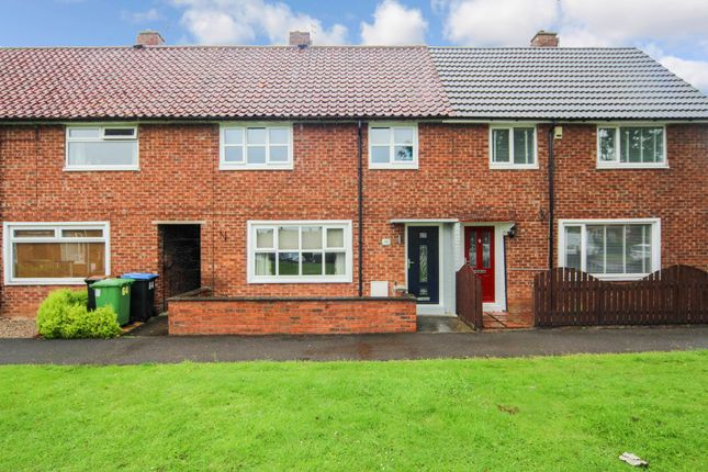 Thumbnail Terraced house for sale in Bewick Crescent, Newton Aycliffe