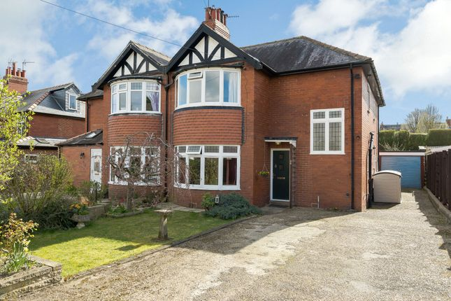 Thumbnail Semi-detached house for sale in Woodlands Avenue, Harrogate, North Yorkshire