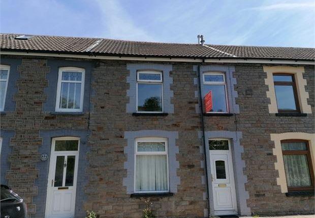 4 bed terraced house for sale in Standard Terrace, Ynyshir, Porth, Rhondda Cynon Taff. CF39