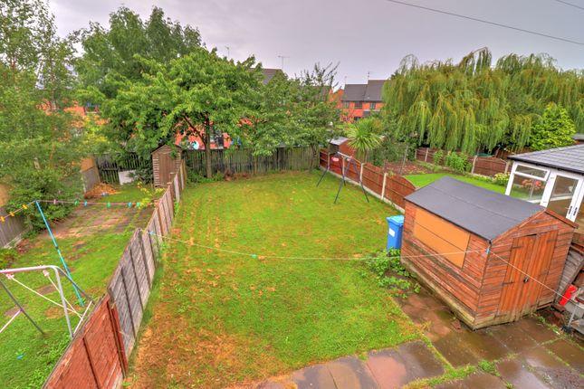 Rear Garden of Kintyre Drive, Sinfin, Derby DE24