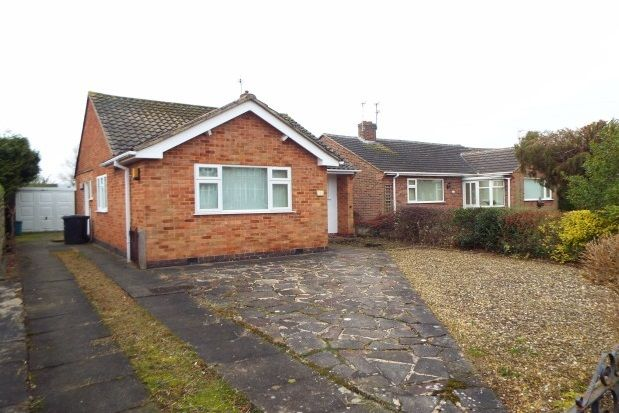 Thumbnail Bungalow to rent in Cleveland Road, Loughborough