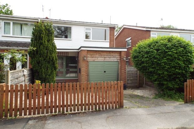 Thumbnail Property to rent in Springfield Drive, Wilmslow