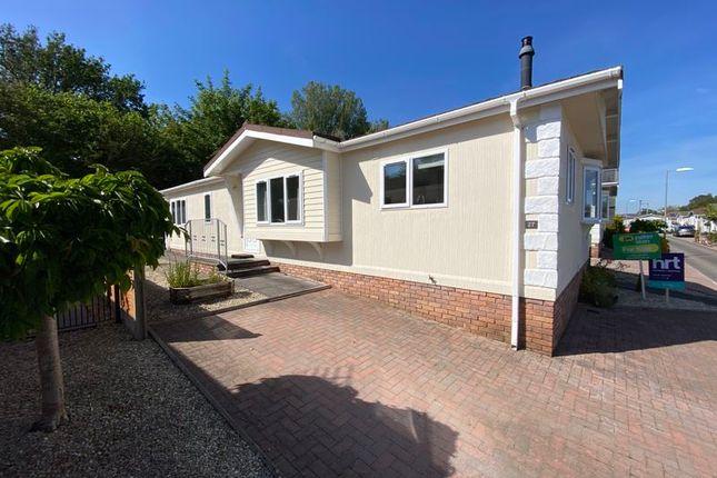Thumbnail Detached bungalow for sale in 27 Heronstone Park, Heronston Lane, Bridgend