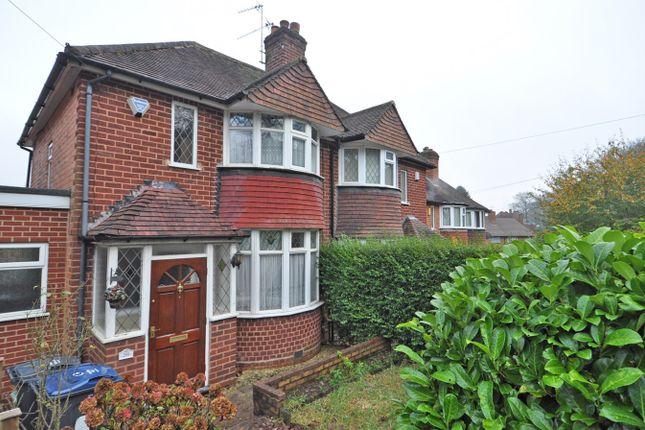 Thumbnail Semi-detached house to rent in Leach Green Lane, Rednal, Birmingham