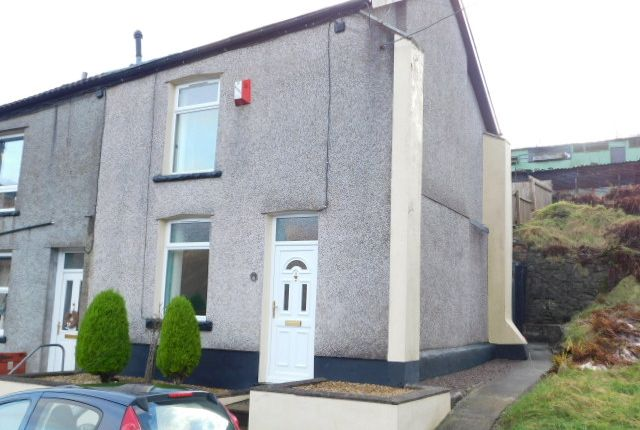 Thumbnail End terrace house for sale in Gwernllwyn Terrace, Tylorstown