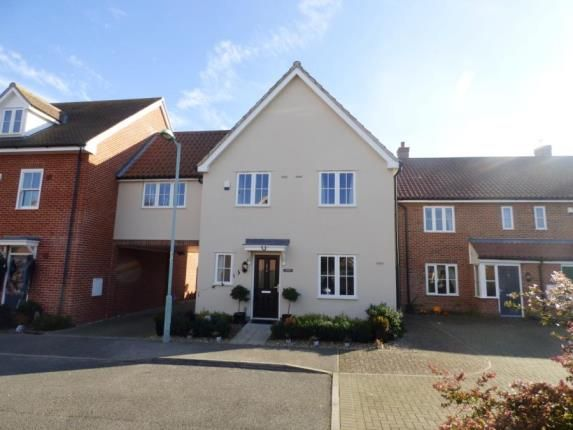 Thumbnail Link-detached house for sale in Hadleigh, Ipswich, Suffolk