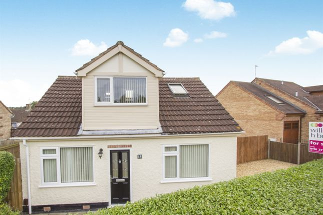 Thumbnail Detached bungalow for sale in Sextant Road, Leicester