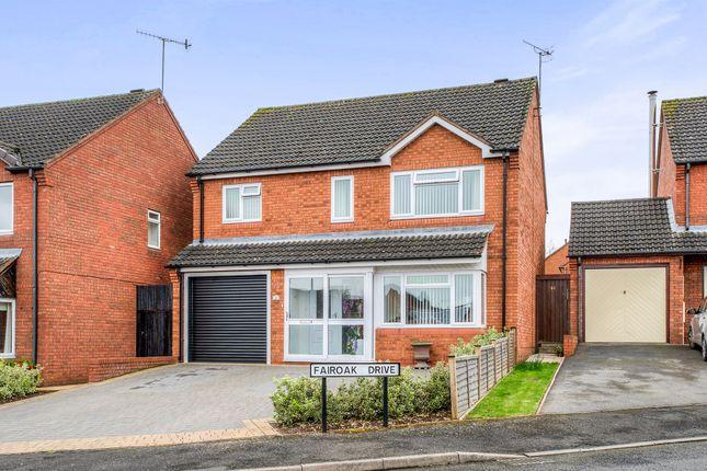 Thumbnail Detached house for sale in Fairoak Drive, Bromsgrove