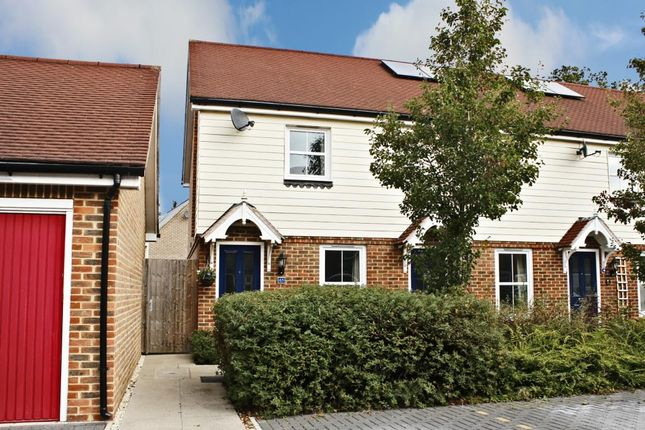 Thumbnail End terrace house for sale in Chilworth Way, Sherfield-On-Loddon, Hook
