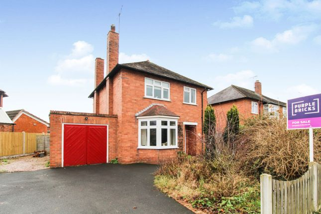 Thumbnail Detached house for sale in Belvidere Avenue, Shrewsbury