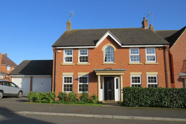 Thumbnail Detached house for sale in Bancroft Way, Wootton, Northampton