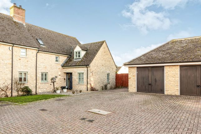 Thumbnail Semi-detached house for sale in Oxford Court, Weston-On-The-Green, Bicester