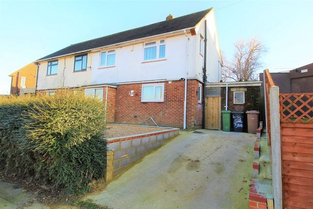 Thumbnail Semi-detached house for sale in Long Croft Road, Luton
