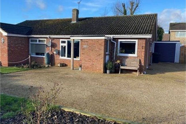 2 bed semi-detached bungalow for sale in 4 Woodside Close, Attleborough, Norfolk NR17